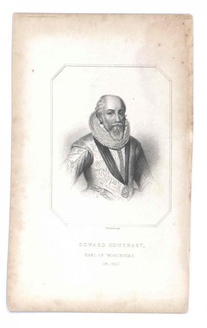 Somerset, 4. Earl of Worcester, Edward