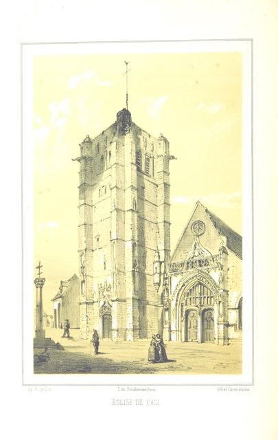 """Somme from """"Eglises, chateaux, beffrois et hotels-de-ville, les plus remarquables de la Picardie et de l'Artois"""""""