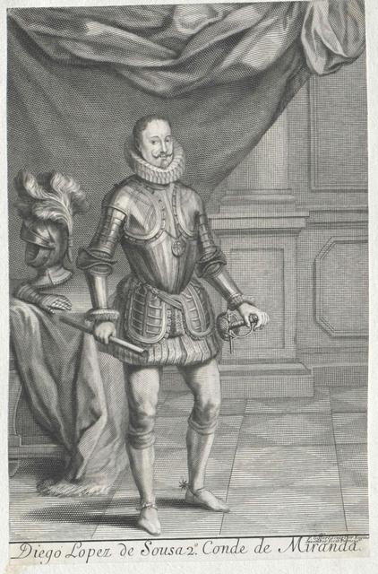 Sousa, 2. Conde de Miranda, Diogo V. Lopes de
