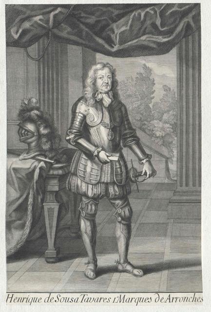 Sousa Tavares, Marqués de Arronches, 3. Conde de Miranda, Henrique III. de