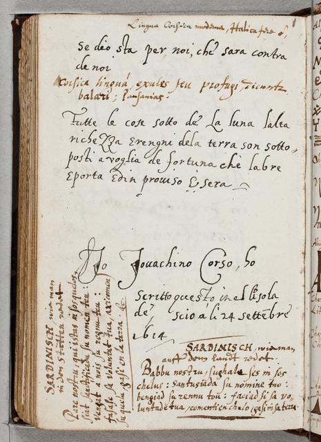 Specimina van exotische talen en schriften / door Ernst Brinck (1582-1649), gezant, burgemeester van Harderwijk, afgeschreven in zijn album amicorum