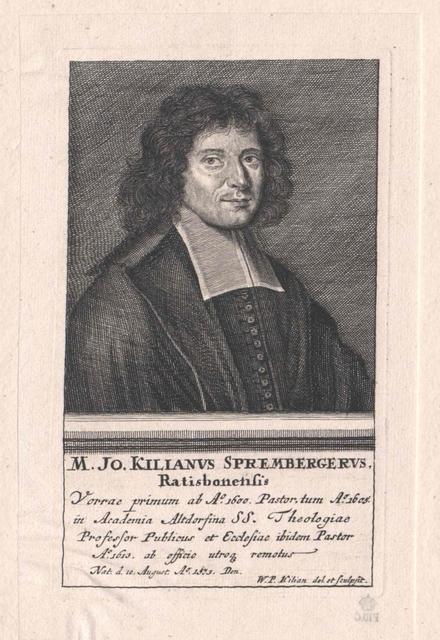 Spremberger, Johann Kilian
