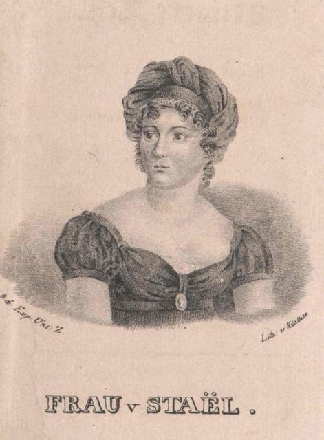 Stael-Holstein, Germaine Freiin von