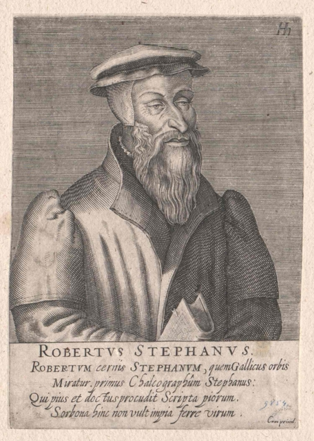 Stephanus, Robert