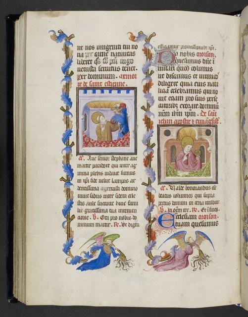 Stephen and John from BL Eg 1070, f. 82v