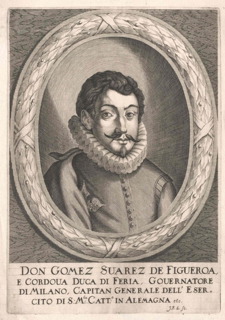 Suárez de Figueroa y Córdoba, Gómez Duque de Feria