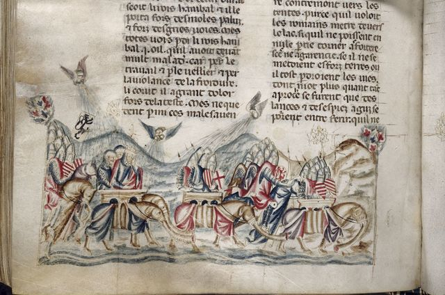 Sufferings of the Carthaginians from BL Royal 20 D I, f. 275v