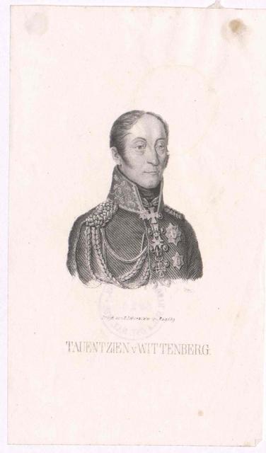 Tauentzien von Wittenberg, Bogislav Friedrich Emanuel Graf
