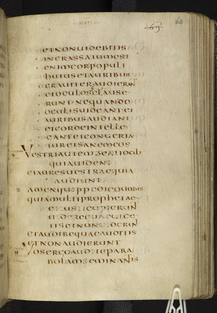 Text page from BL Harley 1775, f. 64