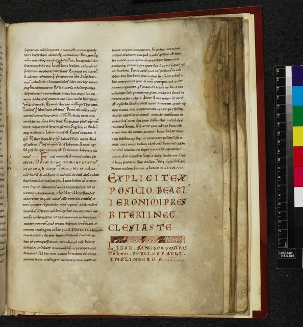 Text page from BL Harley 3103, f. 71