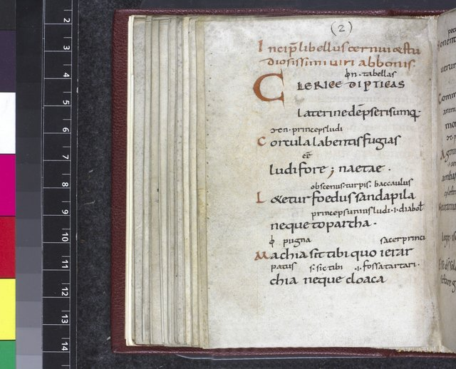 Text page from BL Harley 3826, f. 71v