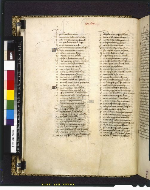 Text page from BL Harley 4431, f. 199v