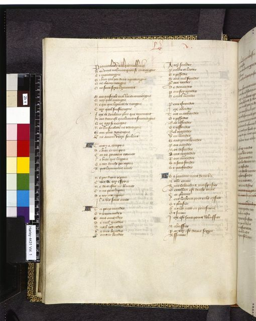 Text page from BL Harley 4431, f. 25v