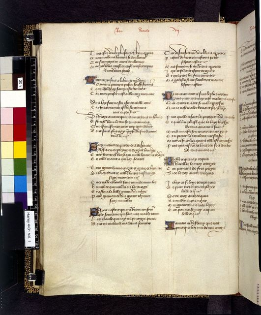 Text page from BL Harley 4431, f. 30v