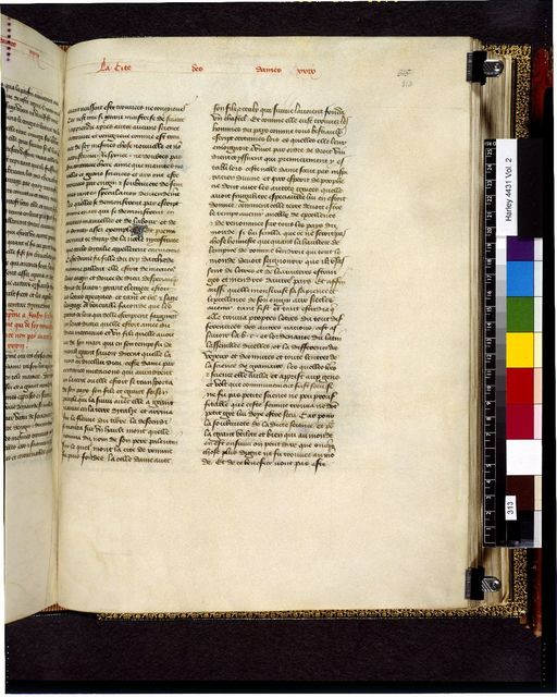 Text page from BL Harley 4431, f. 313