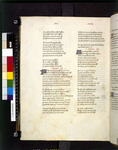 Text page from BL Harley 4431, f. 384v
