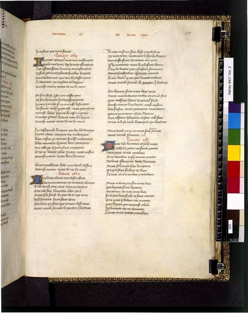 Text page from BL Harley 4431, f. 385