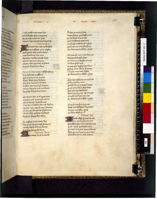 Text page from BL Harley 4431, f. 389