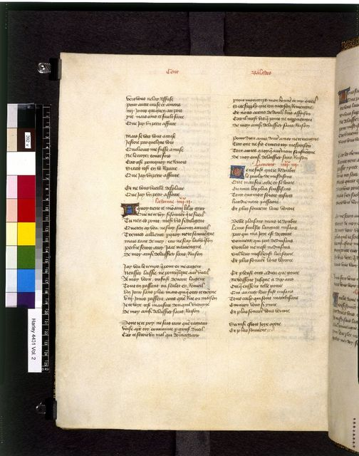 Text page from BL Harley 4431, f. 392v