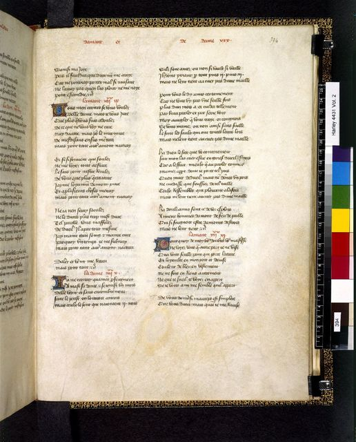 Text page from BL Harley 4431, f. 394