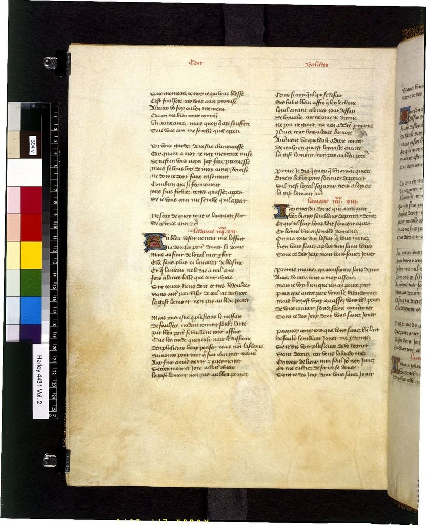 Text page from BL Harley 4431, f. 394v