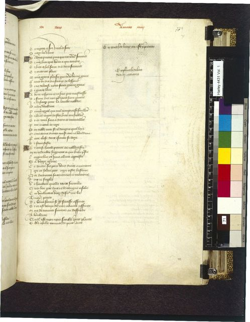 Text page from BL Harley 4431, f. 71