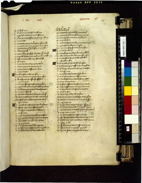 Text page from BL Harley 4431, f. 72