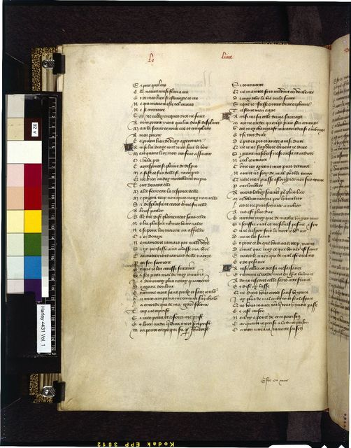 Text page from BL Harley 4431, f. 92v