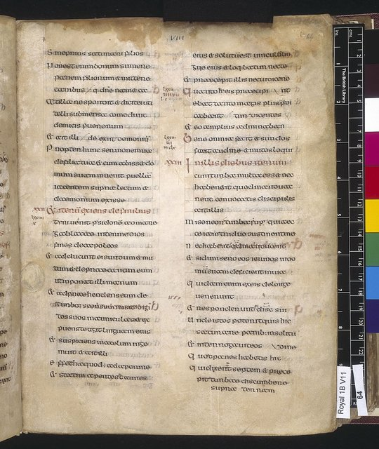 Text page from BL Royal 1 B VII, f. 64