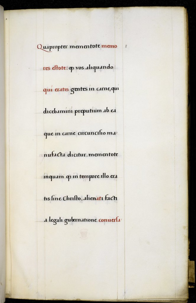 Text page from BL Royal 1 D XIII-XV, f. 8