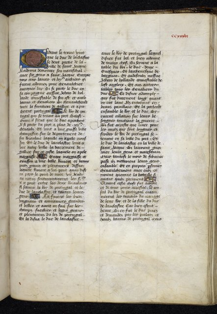 Text page from BL Royal 14 E IV, f. 245