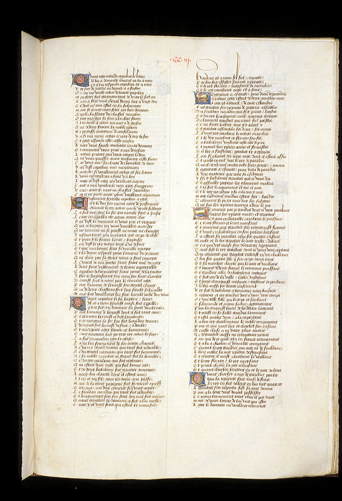 Text page from BL Royal 15 E VI, f. 151