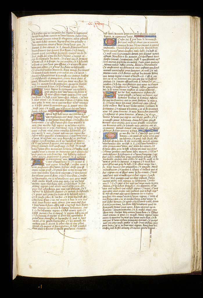 Text page from BL Royal 15 E VI, f. 181