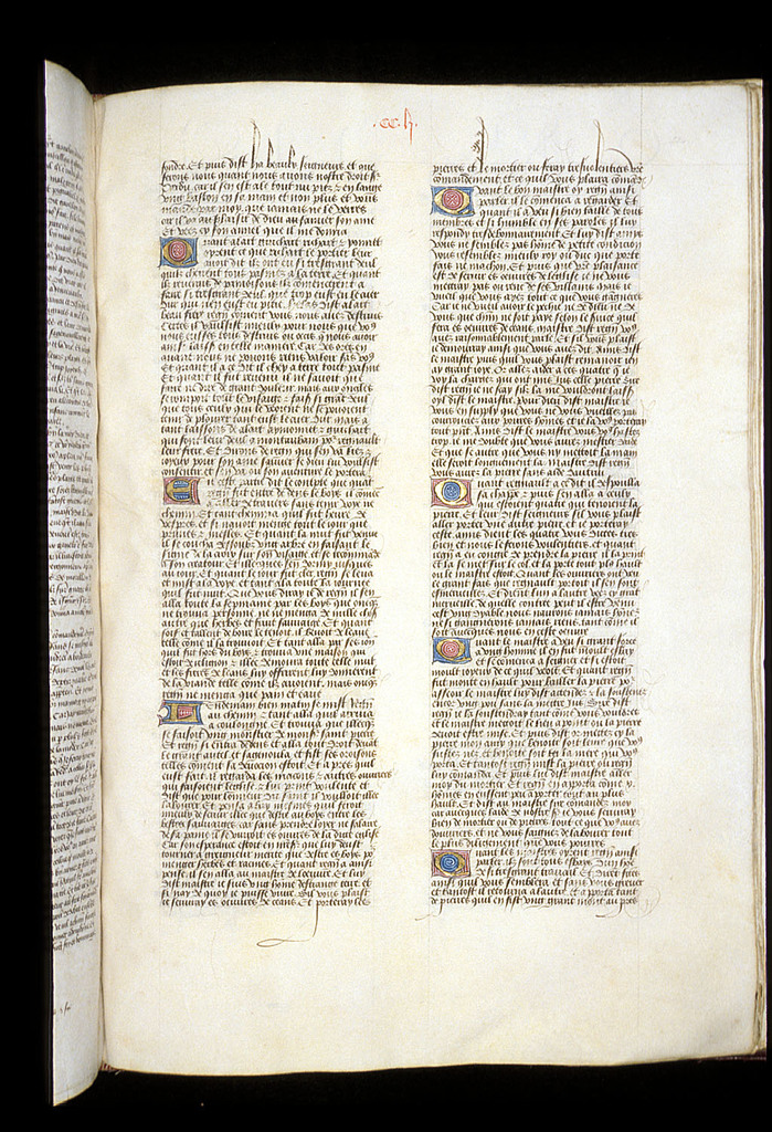 Text page from BL Royal 15 E VI, f. 204