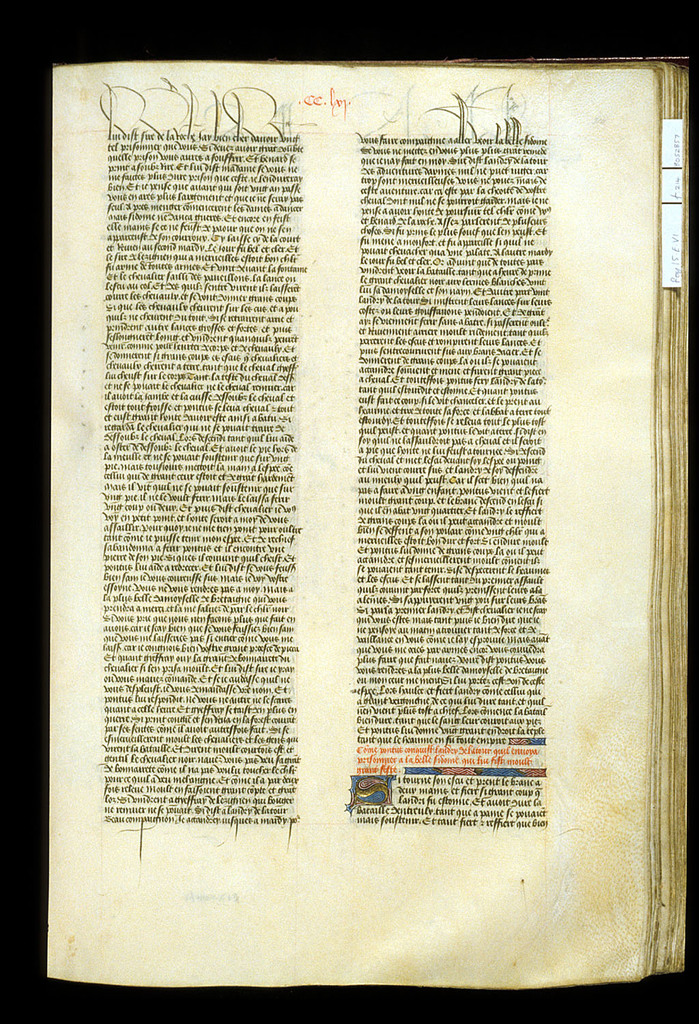 Text page from BL Royal 15 E VI, f. 214