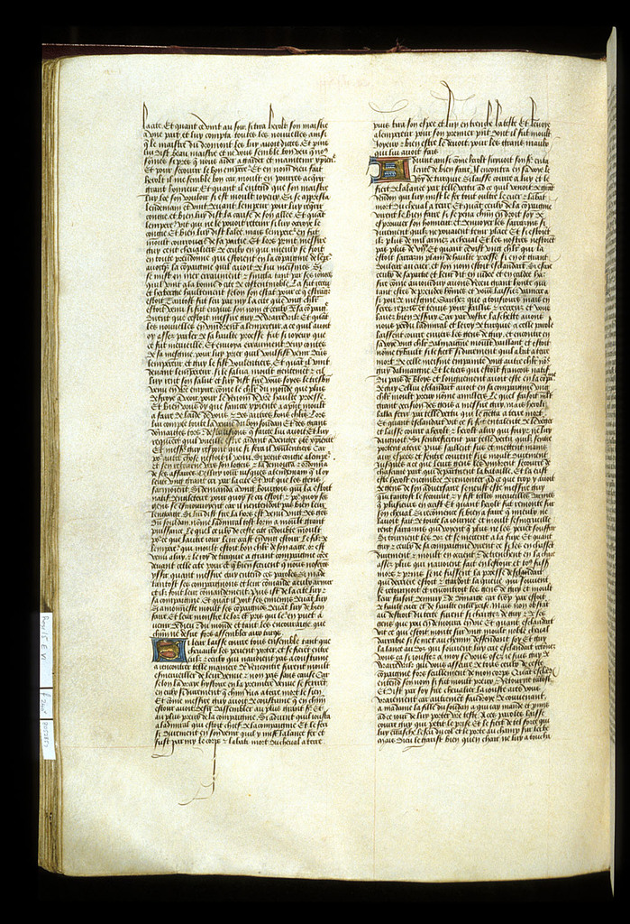 Text page from BL Royal 15 E VI, f. 240v