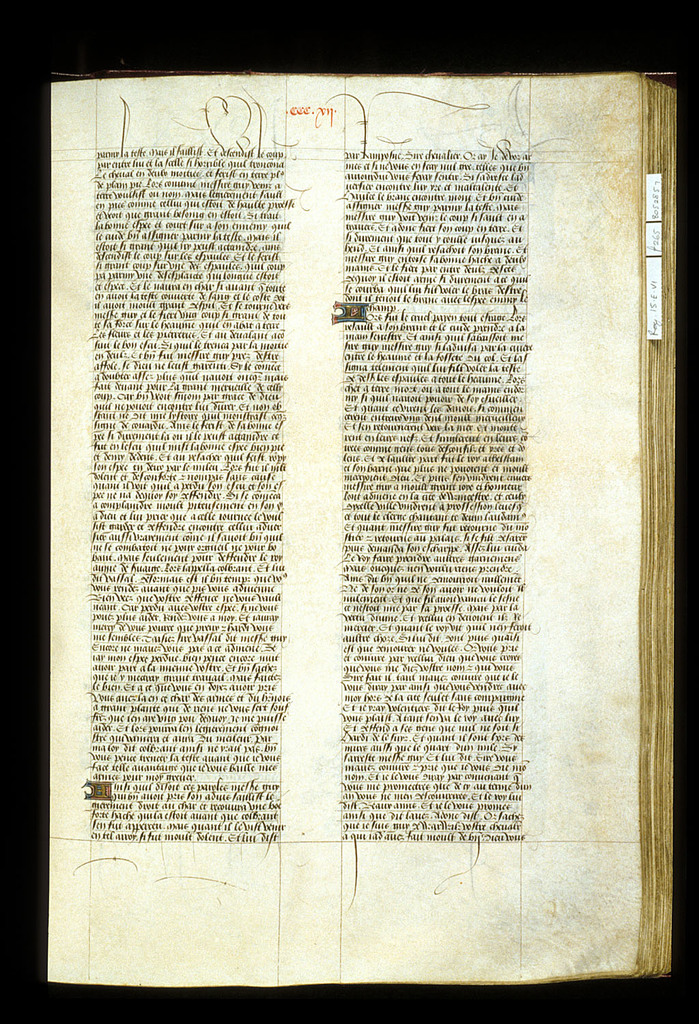 Text page from BL Royal 15 E VI, f. 265
