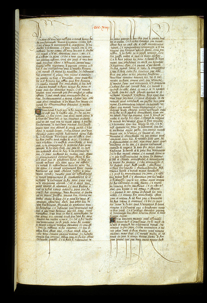 Text page from BL Royal 15 E VI, f. 267
