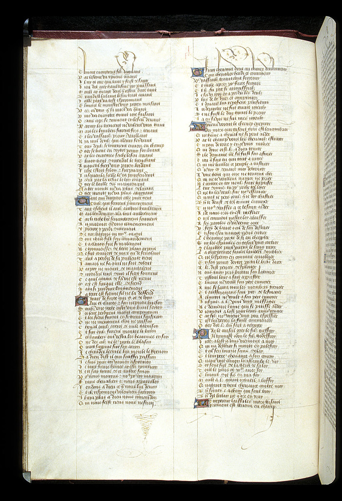 Text page from BL Royal 15 E VI, f. 55v