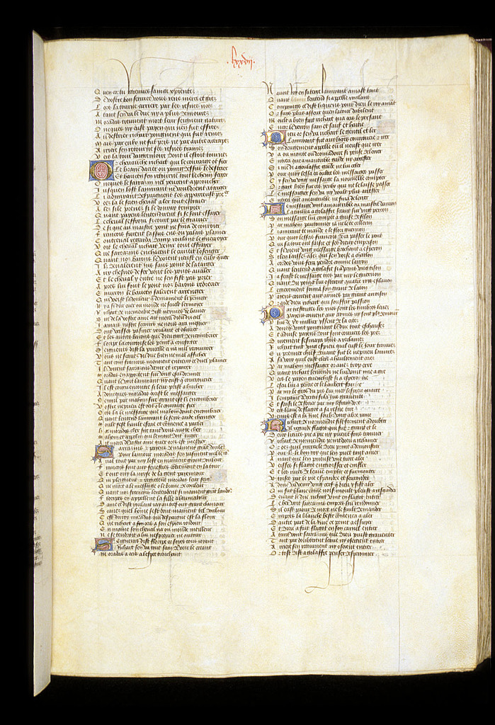 Text page from BL Royal 15 E VI, f. 81