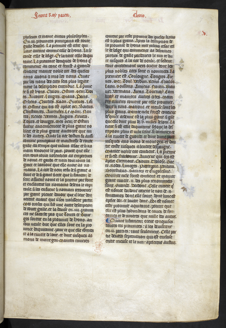 Text page from BL Royal 16 G VI, f. 7