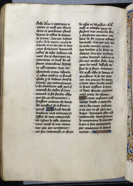 Text page from BL Royal 16 G VIII, f. 254v