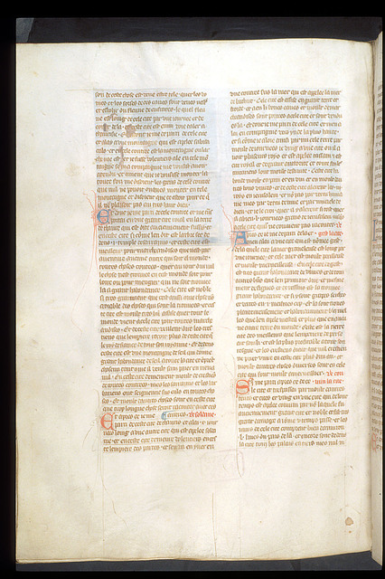 Text page from BL Royal 19 D I, f. 136v