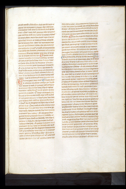 Text page from BL Royal 19 D I, f. 142