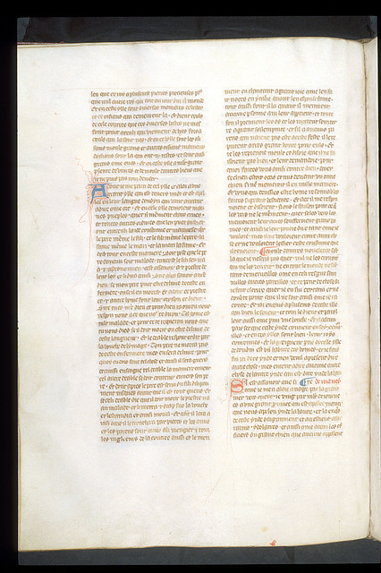 Text page from BL Royal 19 D I, f. 142v