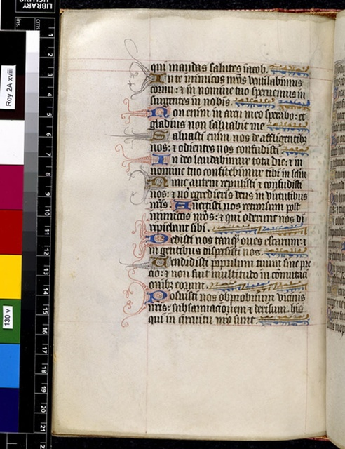 Text page from BL Royal 2 A XVIII, f. 130v