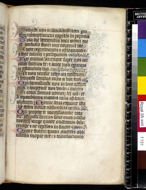 Text page from BL Royal 2 A XVIII, f. 131