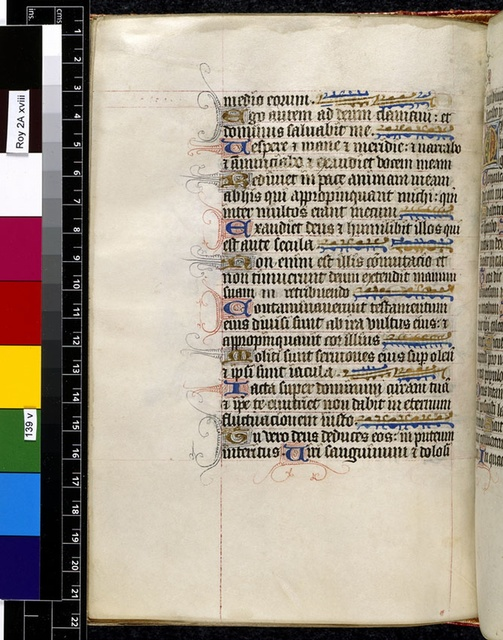Text page. from BL Royal 2 A XVIII, f. 139v