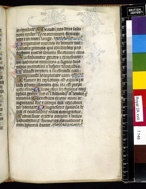 Text page from BL Royal 2 A XVIII, f. 146