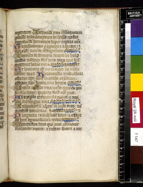 Text page from BL Royal 2 A XVIII, f. 147